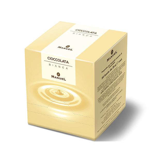 Topla čokolada Manuel (Kesice) - Bijela čokolada