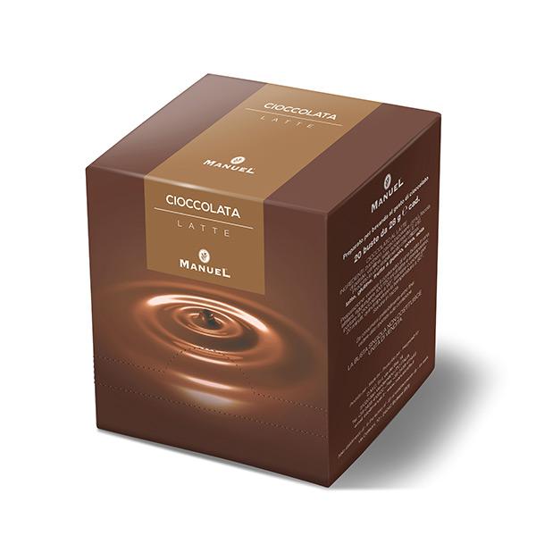 Topla čokolada Manuel (Kesice) - Crna klasična