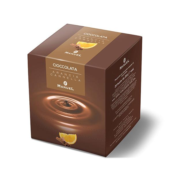 Topla čokolada Manuel (Kesice) - Narandža i cimet