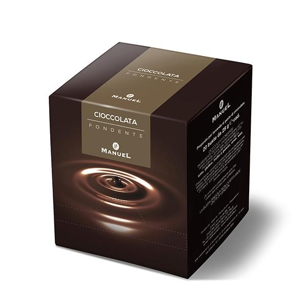 Topla čokolada Manuel (Kesice) - Tamna čokolada